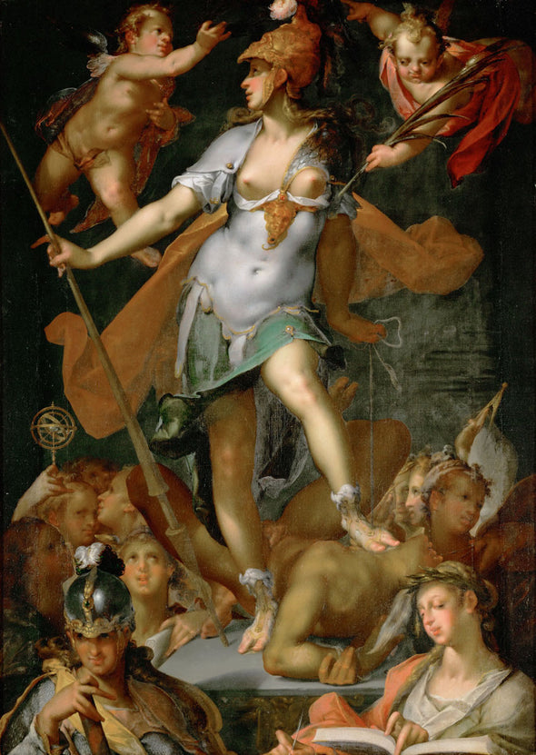 Bartholomeus Spranger - Minerva triumphs over Ignorance