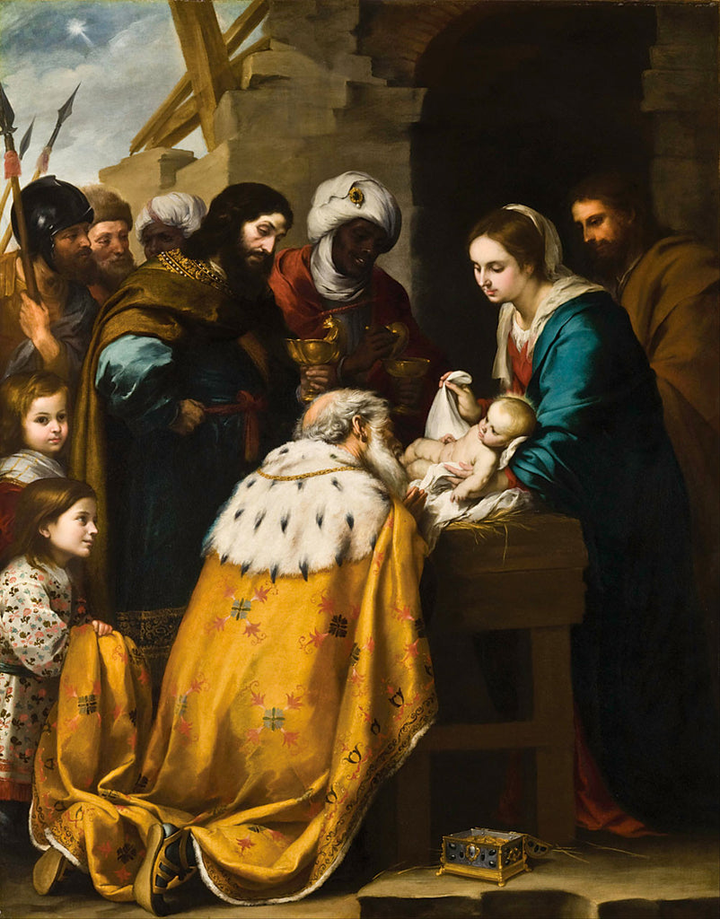 Bartolomé Esteban Murillo - Adoration of the Magi