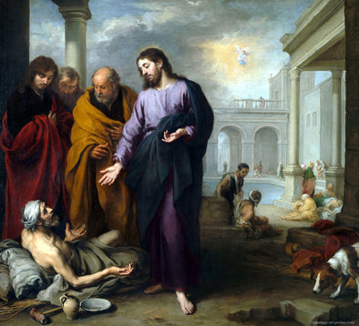 Bartolomé Esteban Murillo - Christ healing the Paralytic