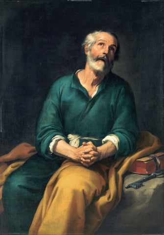 Bartolomé Esteban Murillo - Saint Peter in Tears