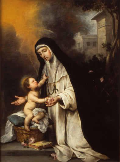Bartolomé Esteban Murillo - Saint Rose of Lima