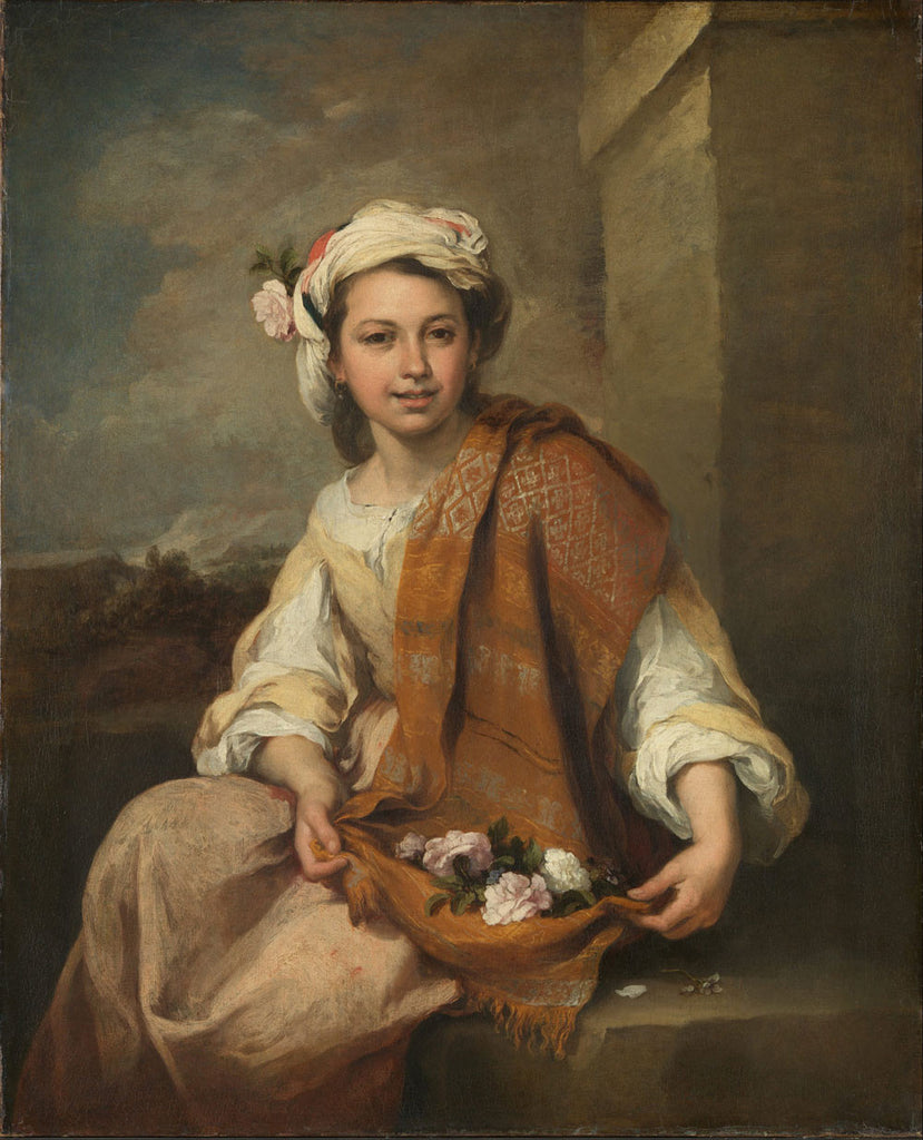 Bartolomé Esteban Murillo - The Flower Girl