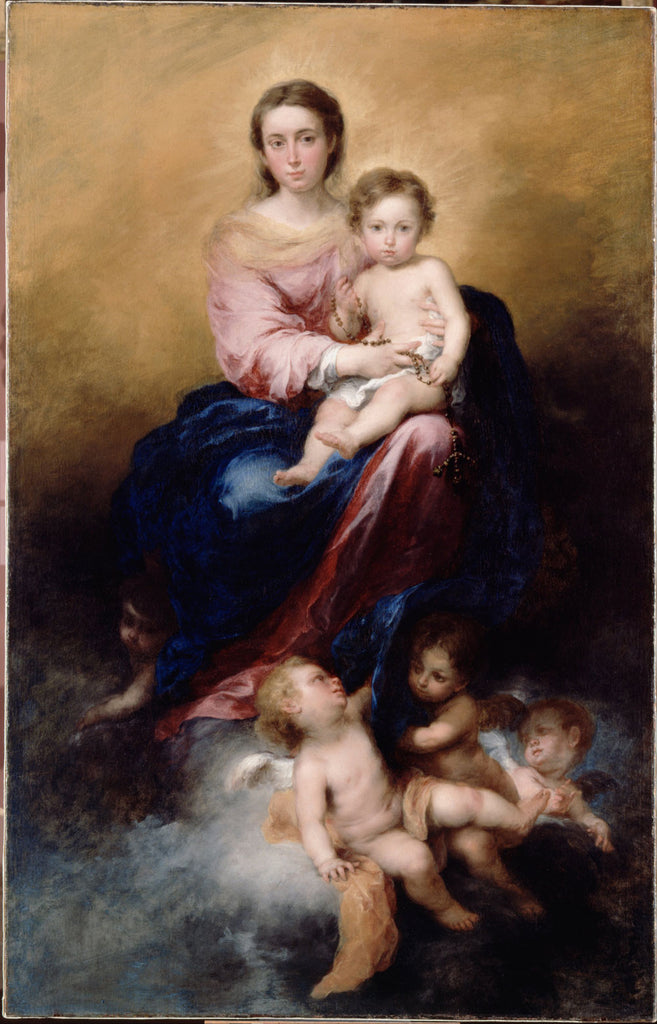 Bartolomé Esteban Murillo - The Madonna of the Rosary