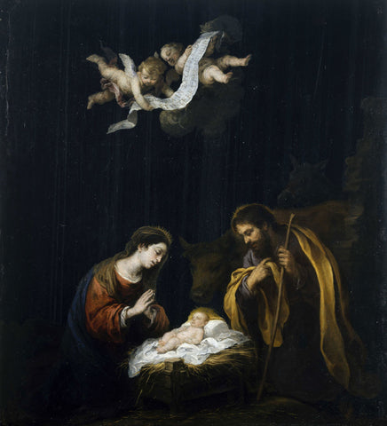 Bartolomé Esteban Murillo - The Nativity