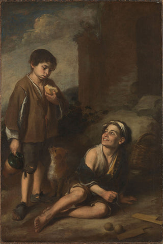 Bartolomé Esteban Murillo - Two Peasant Boys