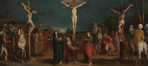 Bartolomeo Carducci (Carducho) - Crucifixion with Thieves