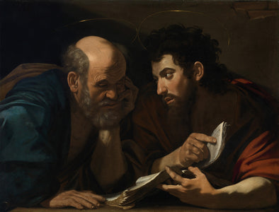 Bartolomeo Cavarozzi - Saint Peter and Saint Paul disputants
