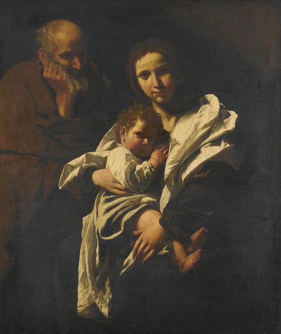 Bartolomeo Cavarozzi - The Holy Family