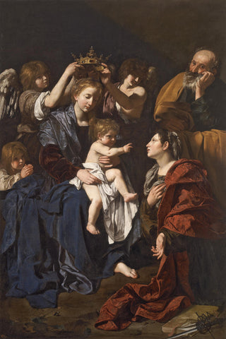 Bartolomeo Cavarozzi - Virgin and Child with Angels