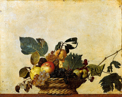 Caravaggio - Basket of Fruit
