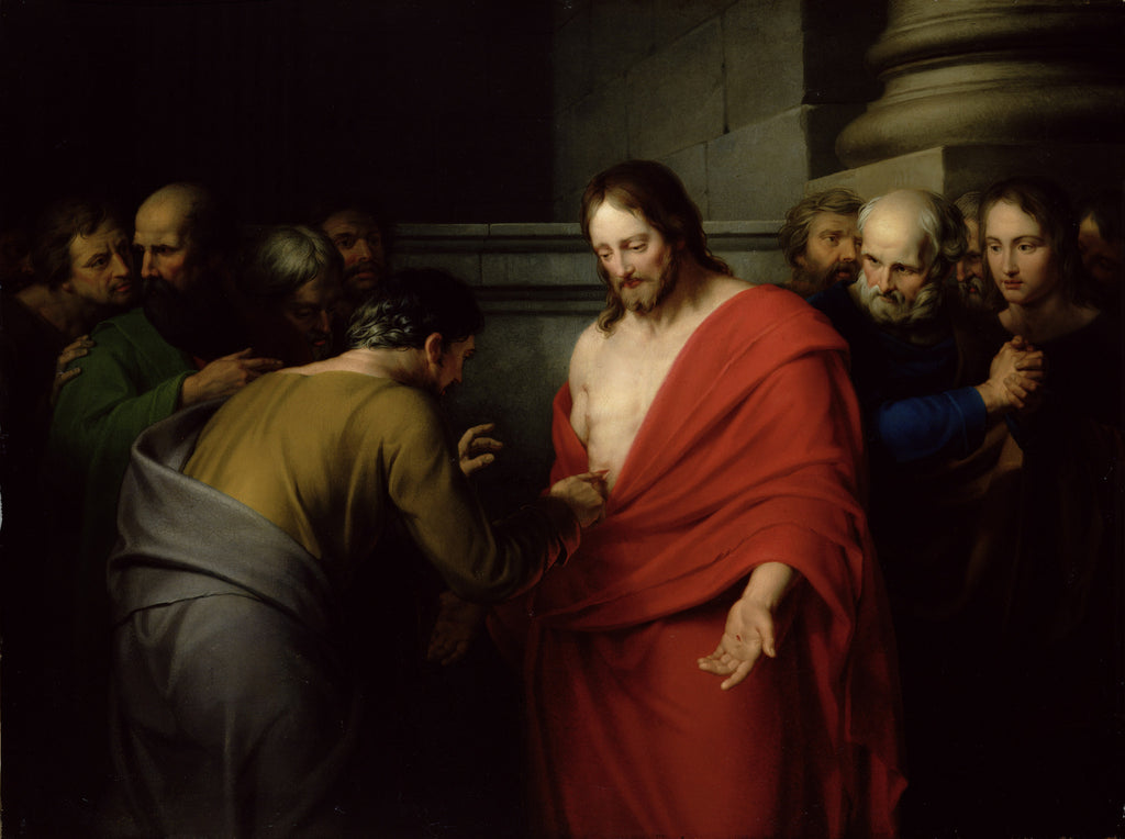 Benjamin West - The Incredulity of St. Thomas