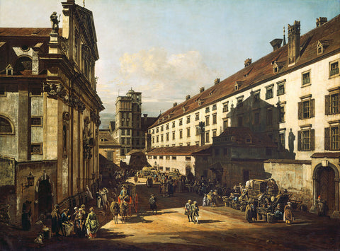 Bernardo Bellotto (Canaletto) - Vienna, Dominican Church