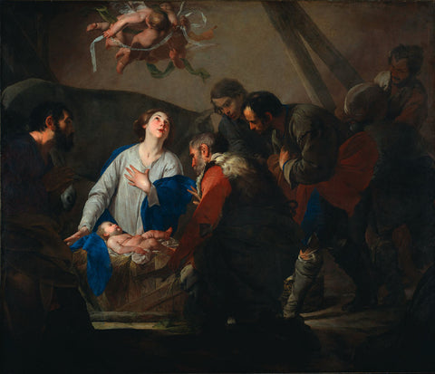Bernardo Cavallino - The Adoration of the Shepherds
