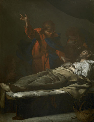 Bernardo Cavallino - The Death of Saint Joseph
