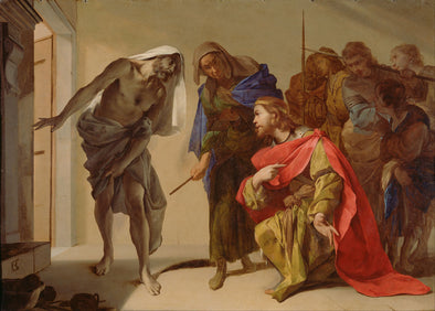 Bernardo Cavallino - The Shade of Samuel Invoked by Saul