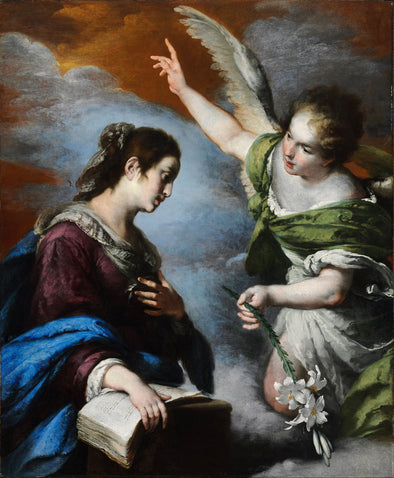 Bernardo Strozzi - The Annunciation
