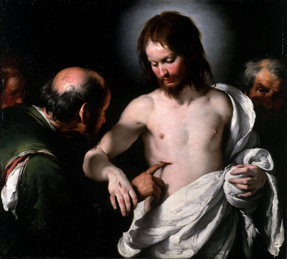 Bernardo Strozzi - The Incredulity of Saint Thomas