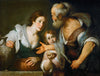 Bernardo Strozzi - The Prophet Elias and the widow of Sarepta