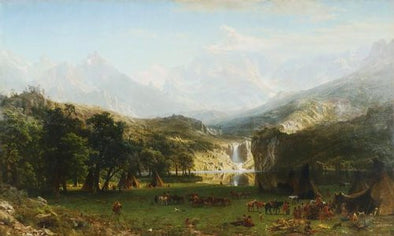Albert Bierstadt - The Rocky Mountains Landers Peak