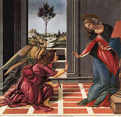 Botticelli - Annuciation