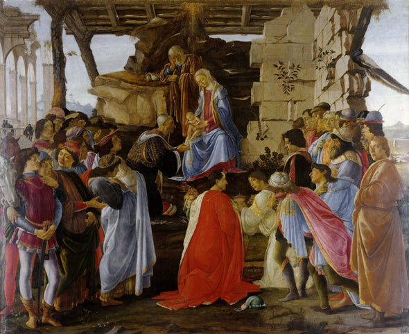 Botticelli - The Adoration of the Magi