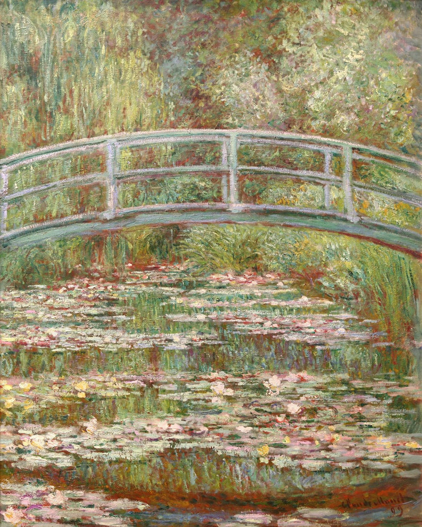 Monet - Bridge Over a Pond of Water Lilies