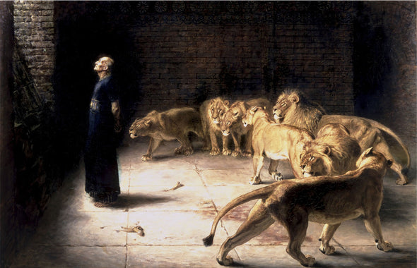 Briton Rivière - Daniel's Answer To The King