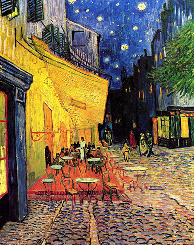 Vincent van Gogh - Cafe Terrace at Night