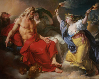 Antoine-Francois Callet - Jupiter and Ceres