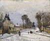 Camille Pissarro - Road to Versailles at Louveciennes