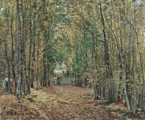 Camille Pissarro - The Woods at Marly