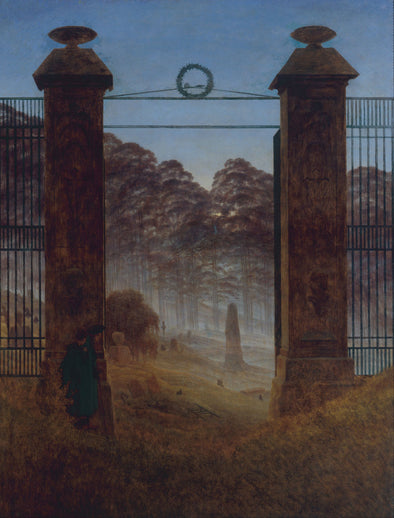 Caspar David Friedrich - The Cemetery