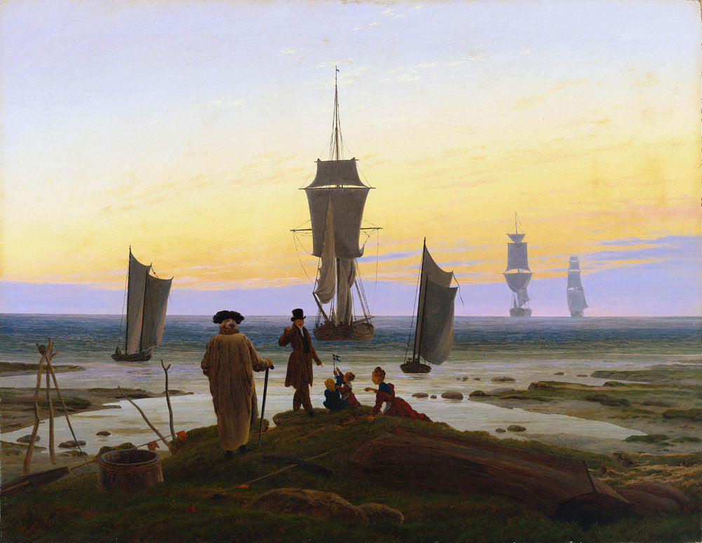 Caspar David Friedrich - The Stages of Life