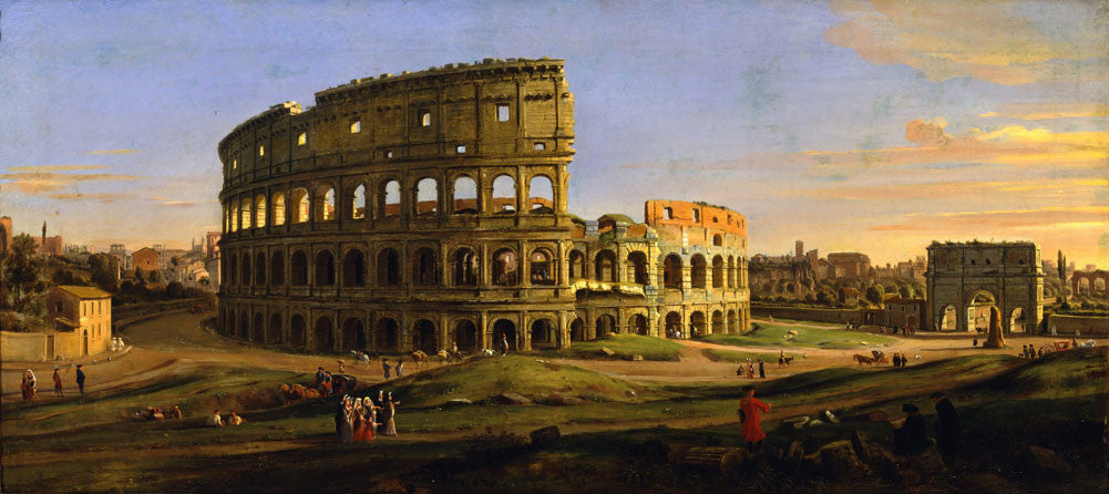 Caspar van Wittel - The Colosseum