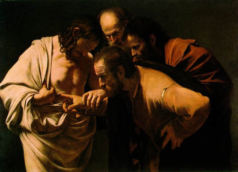 Caravaggio - Doubting of St.Thomas