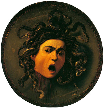 Paul Cézanne - Head of Medusa