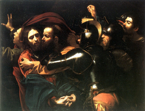 Caravaggio - Kiss of Judas