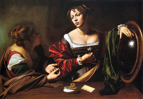 Caravaggio - Martha & Marry Magdalene