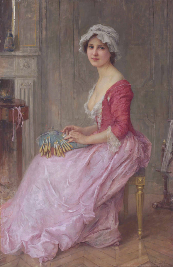 Charles-Amable Lenoir - The Seamstress