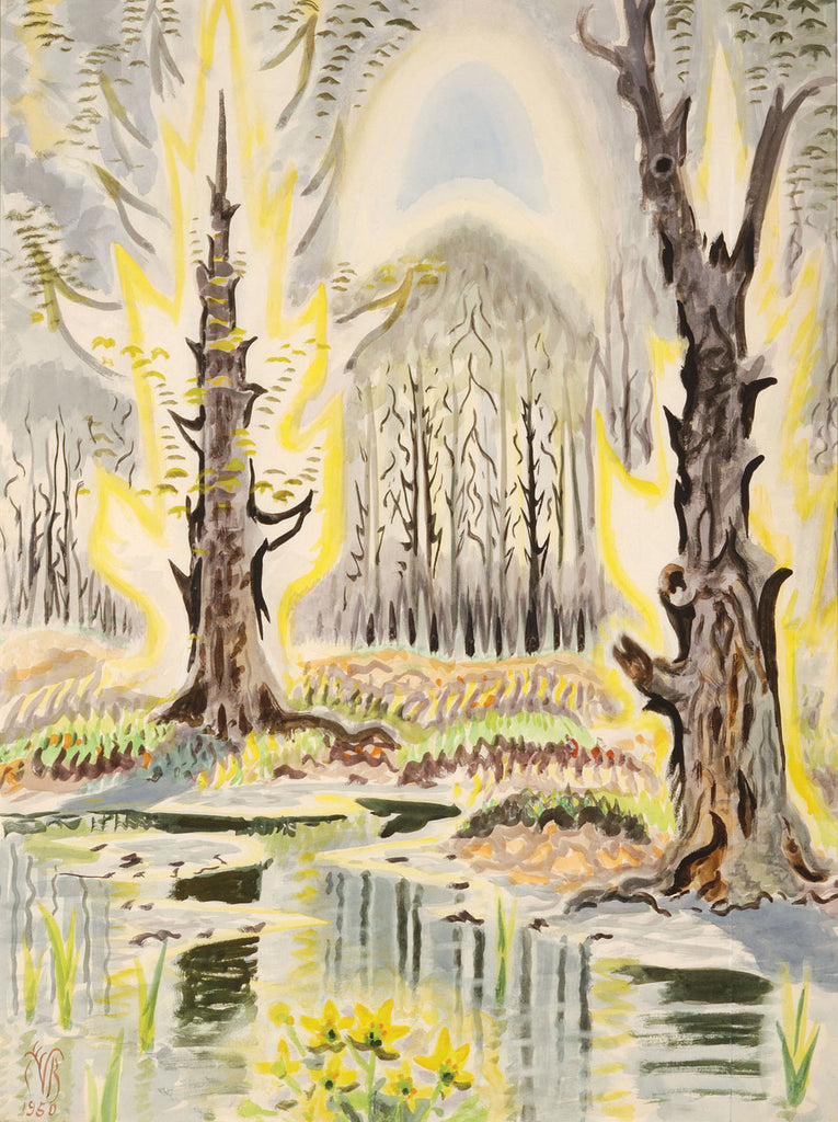 Charles Burchfield - Glory of Spring