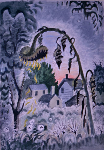 Charles Burchfield - September Afterglow