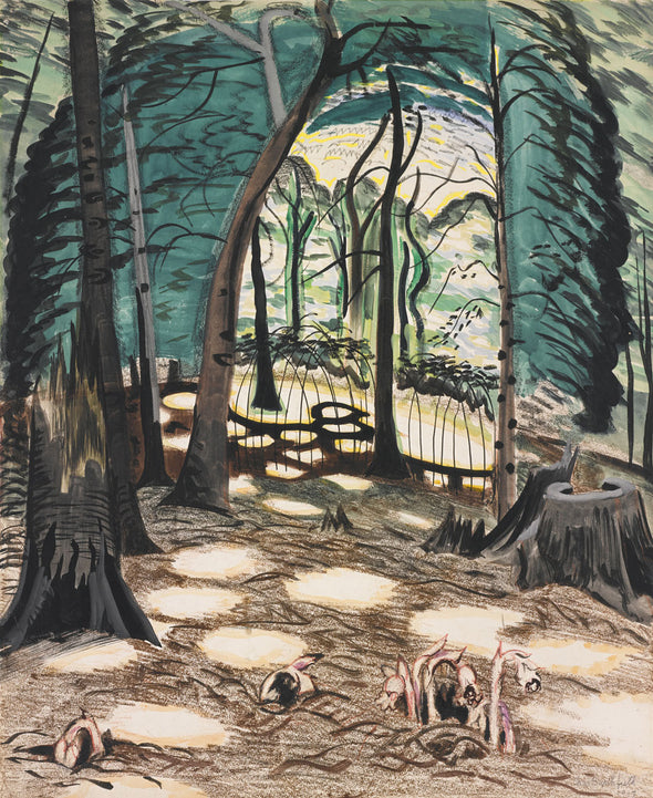 Charles Burchfield - The Bower
