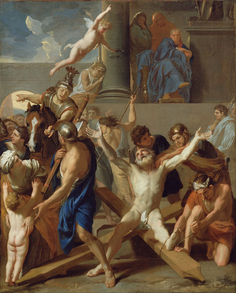 Charles Le Brun - The Martyrdom of St. Andrew