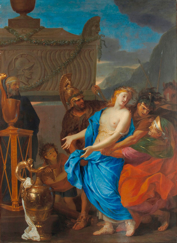 Charles Le Brun - The Sacrifice of Polyxena