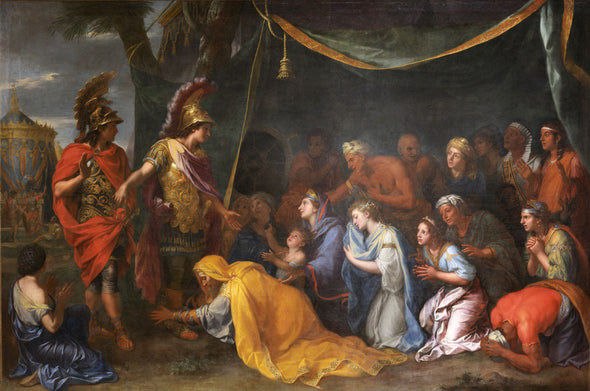 Charles Le Brun - The Tent of Darius, The Queens of Persia at the Feet of Alexander
