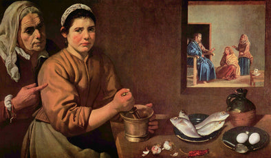 Diego Velázquez - Christ in the House of Martha and Mary