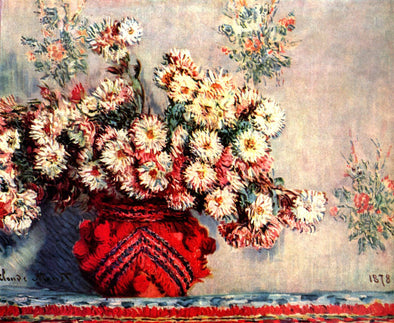 Vincent van Gogh - Vase with Poppies, Cornflowers, Peonies and Chrysanthemums