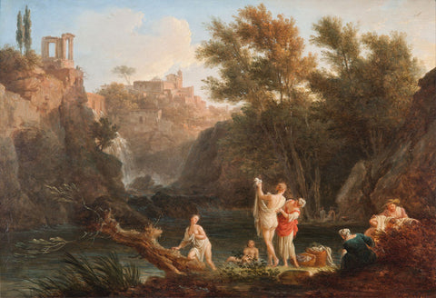 Claude Joseph Vernet - The four times of day Evening