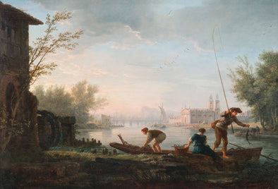 Claude Joseph Vernet - The four times of day Morning