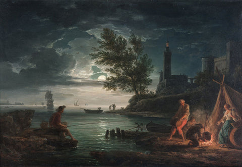 Claude Joseph Vernet - The four times of day Night